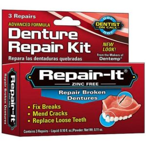 denture repair kit at home