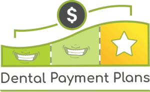 Dental payment plans logo for gentle family dentistry in Lincoln, NE.